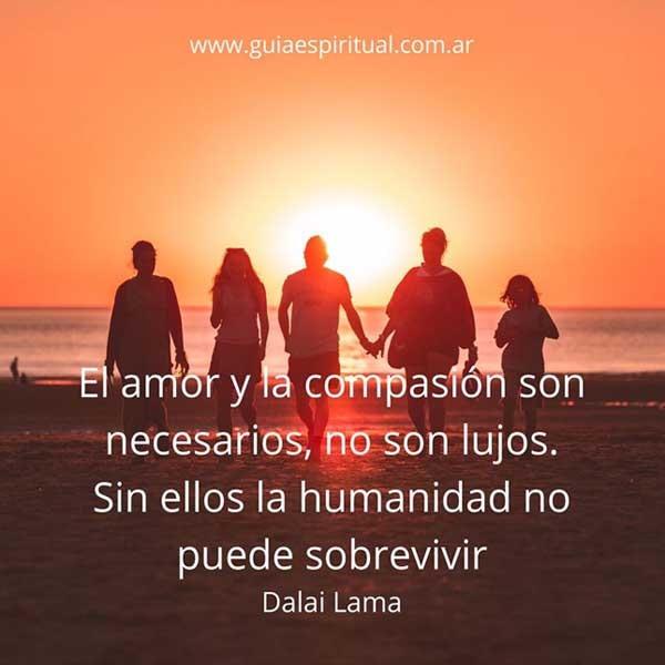 Dalai Lama. El amor y la compasión